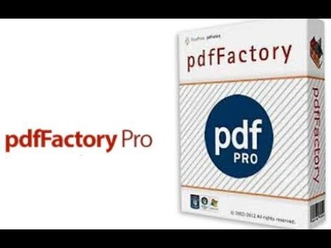 pdfFactory Pro Incl Serial Key Free Download [Latest] 2021